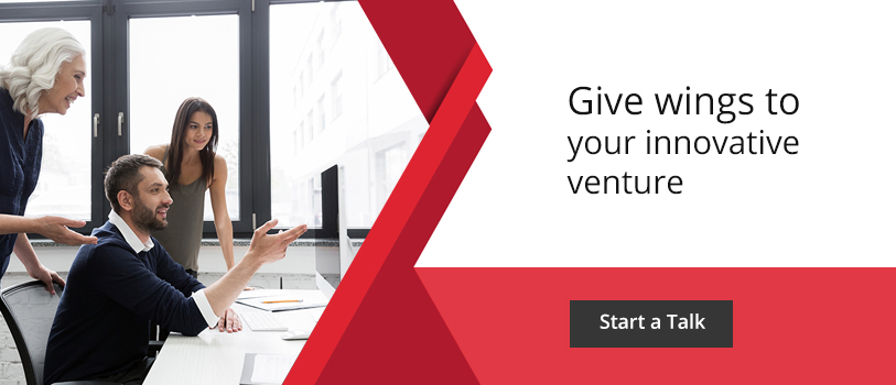 Give wings to your innovative venture - Start a talk