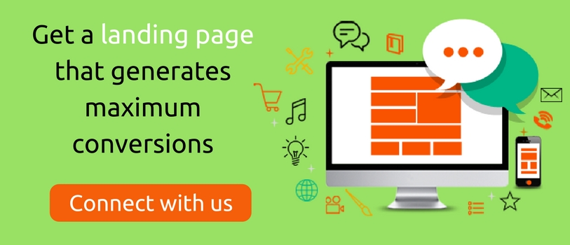 Get a landing that generates maximum conversions - connect with us