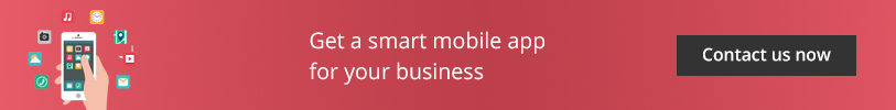 Get a smart mobile app for your business - Contact us now