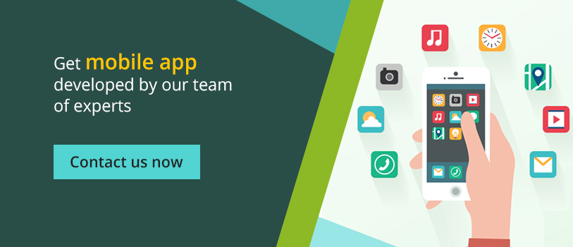 Get mobile app developed by our team of experts - Contact us now