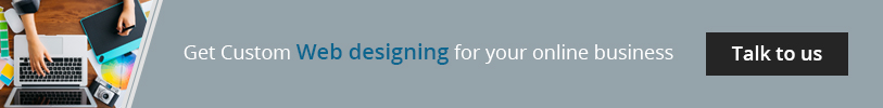 Get custom web designing for your online business