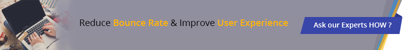 Reduce bounce rate & improve user experience