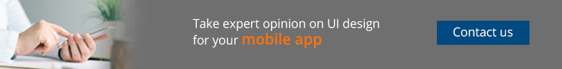 Take expert opinion on UI design for your mobile app