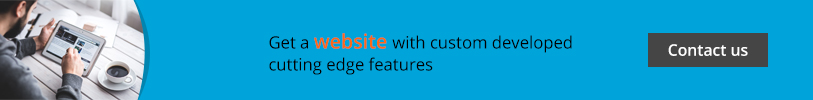 Get Website with custom developed cutting edge features