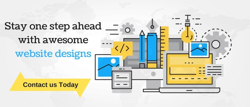Stay on step ahead with awesome website designs
