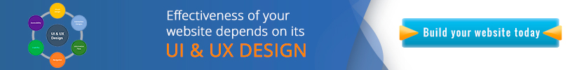 Effectiveness of your website depends on its UI & UX Design