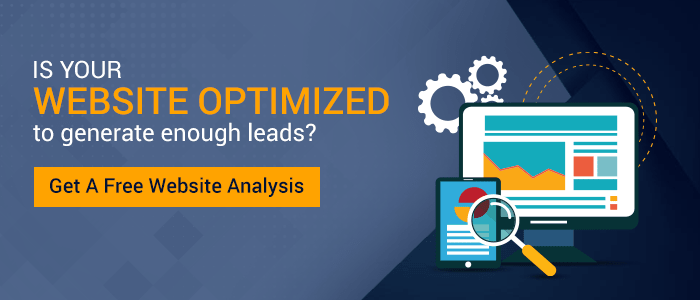 Is your website optimized to generate enough leads - Get a free website analysis