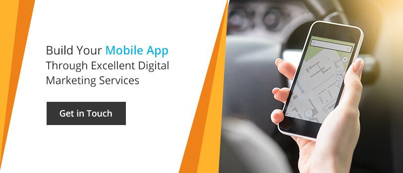 Build your mobile app through excellent digital amrketing services