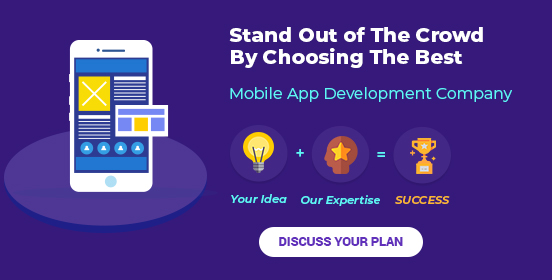 Stand out of Crowd by choosing the best Mobile app company